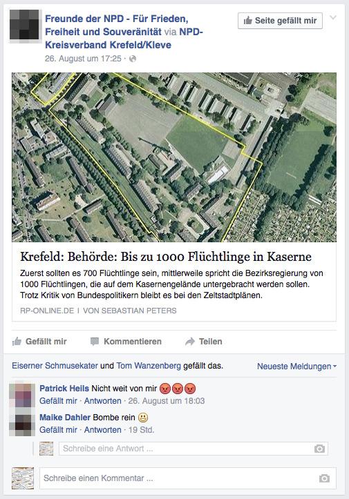 Bombe rein- Quelle- Profil von Maike Dahler