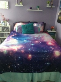 galaxy bed set | Tumblr