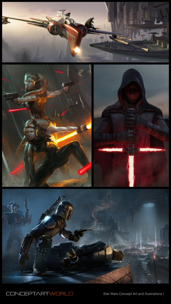Check Star Wars Concept Art And Illustrations - Http