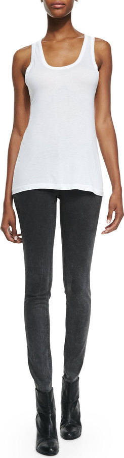 rag & bone/JEAN Basic Tank Top & The Legging Skinny Jeans by Rag and Bone