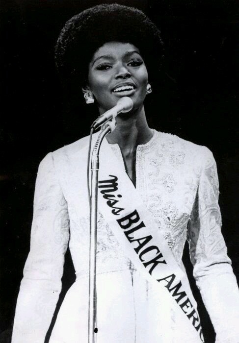 Gloria Smith, Miss Black America, 1969.
