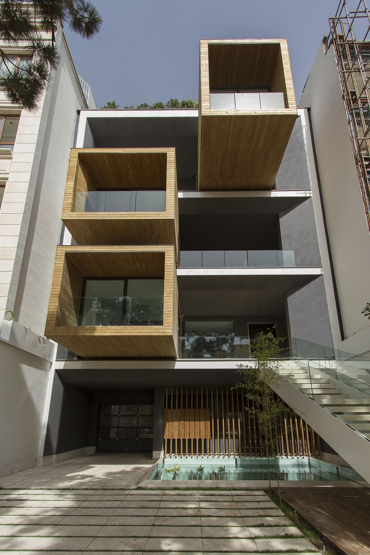 Design Home Exterior Pop Architecture Interior Interior Design | Stair Room Exterior Design | 3 Floor Building | Box Type | Brick | Open Plan | Amazing