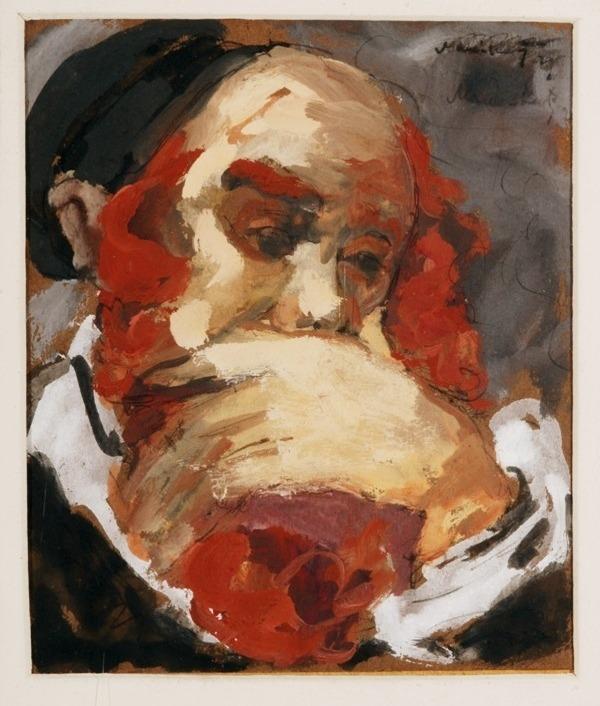lilithsplace: Thoughts, 1929 - Emmanuel Mane-Katz (1894–1962)