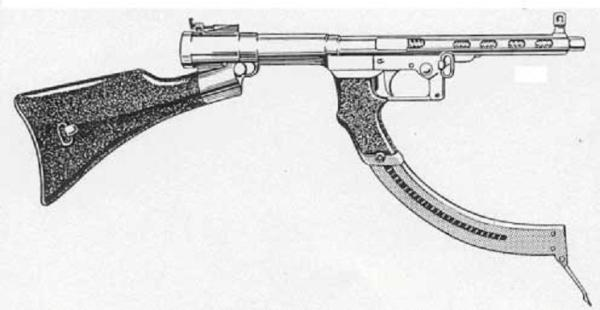 Japanese Type I Submachine Gun Japanese small arms