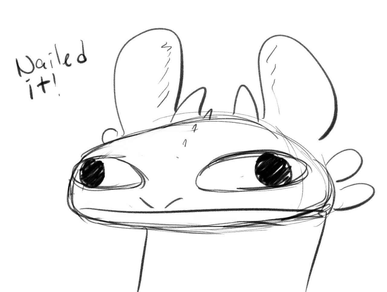DragonScratch — faragonart: Hahahaha Yeah Toothless can be