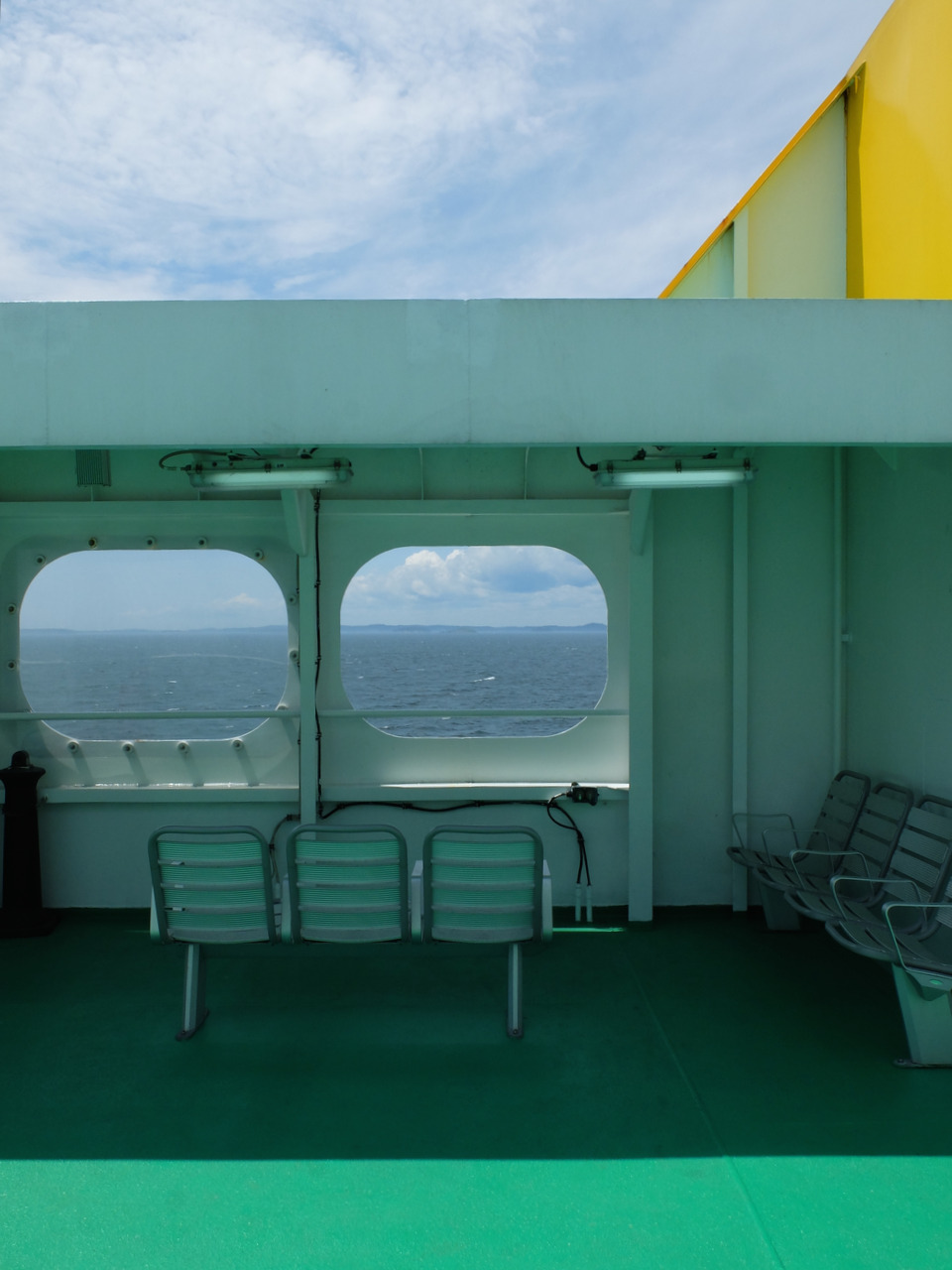 mangia minga // Travels: Grand Manan, New Brunswick. On the ferry to Grand Manan