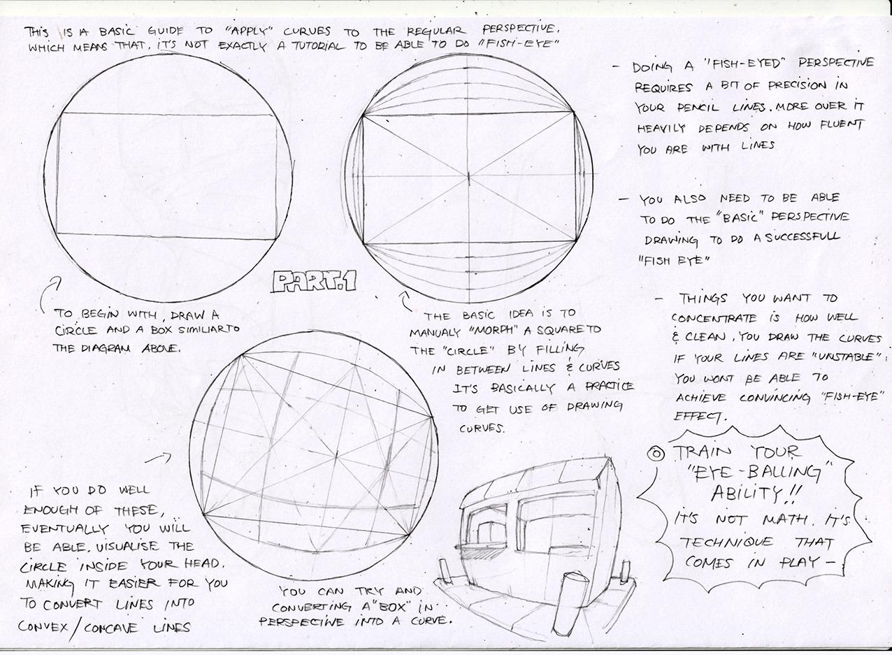 perspective tutorial fish-eye patreon toshinho toshinho •