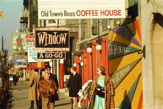 CALUMET 412  Old Town Wells Street 1970 Chicago Art Shay