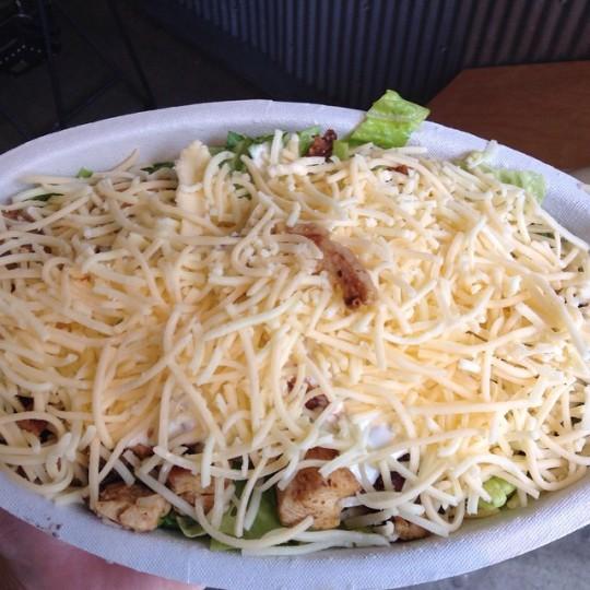Chiptole Salad cheese