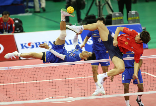 World's Wackiest Sport- Sepak Tekraw