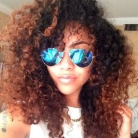 beauty hair black girls curly hair colored hair dyed hair ...