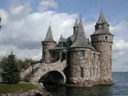 pretty Home Magic fantasy house castle medieval stone Palace paganblood •