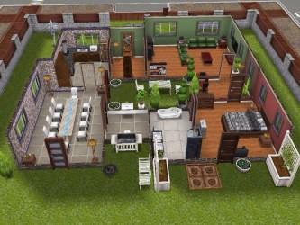 sims freeplay layout designs scandinavian player build designed furniture examples