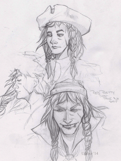 umbersketches:Back from the grave and working on the