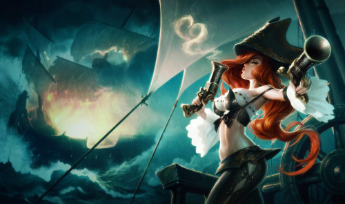 hayemi3   League of legends has very interesting posses and outfits and proportions