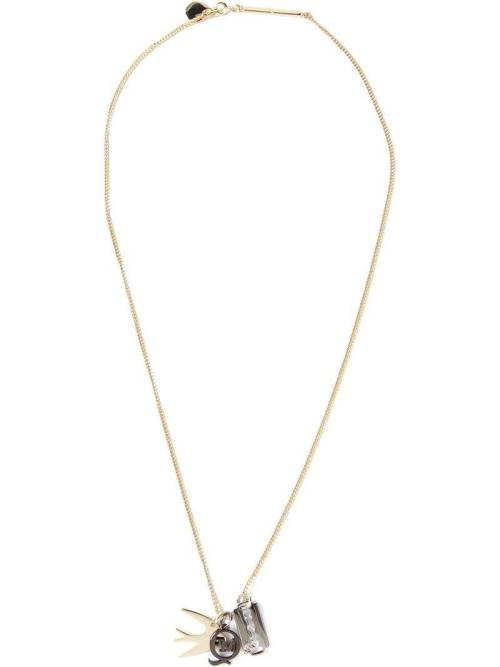 MCQ BY ALEXANDER MCQUEEN charm pendant necklace