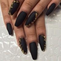matte nail art | Tumblr