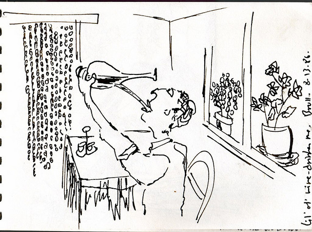 austinkleon:Roger Ebert's sketchbook and thoughts on