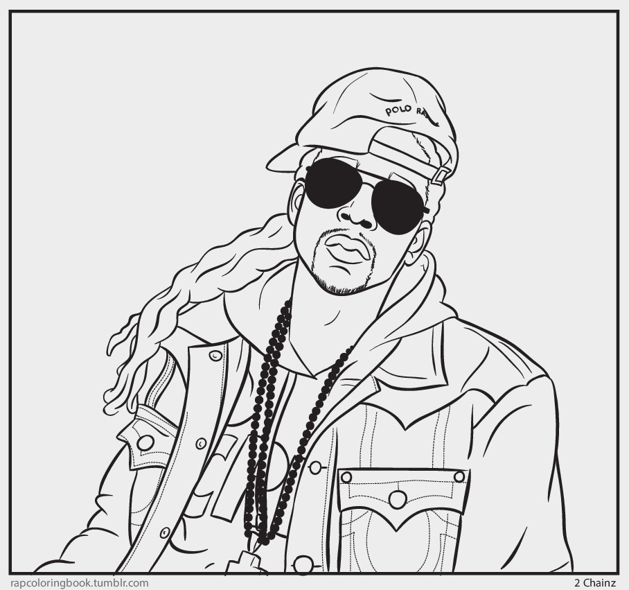 Lil Uzi Vert Coloring Pages Coloring Pages