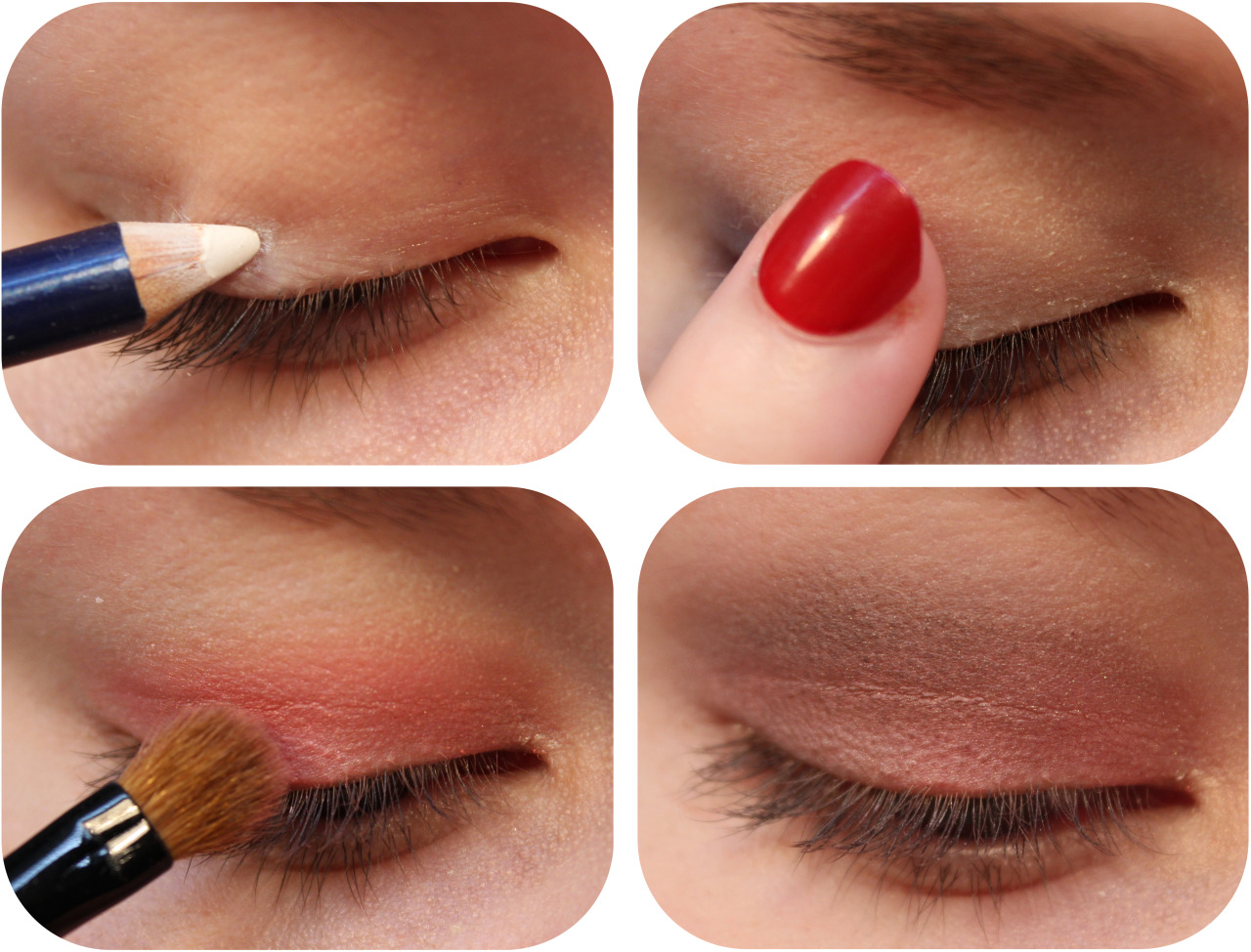 Image result for eyeliner as a base for your eyeshadow