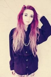 magenta hair dye