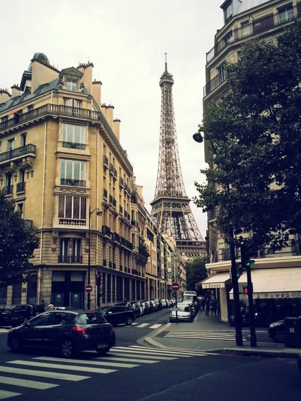 Street Eiffel Tower Paris. Source . - City