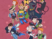 DC Women Kicking Ass - This is an adorable portrait of ...