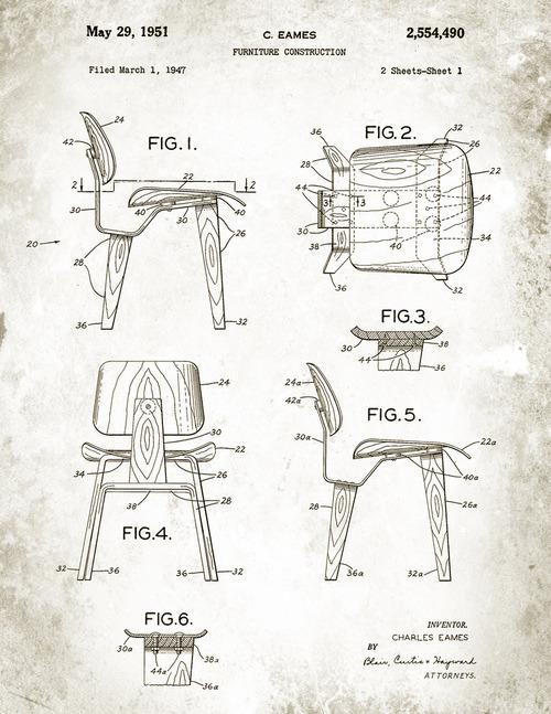 eames chair plans