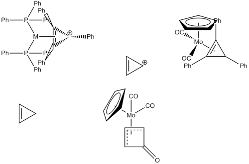 cyclopropene organometallic insanity