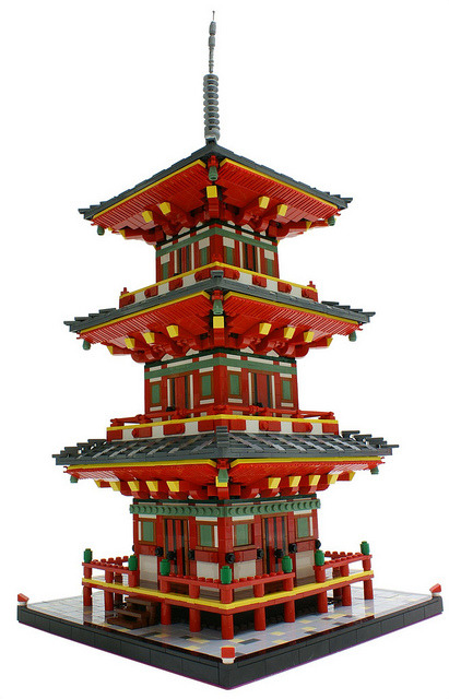 Lego Express • Japanese Pagoda By Matija Grguric On Flickr