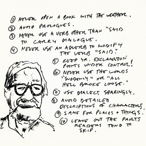 The FJP — Writing Tips by Henry Miller, Elmore Leonard,...