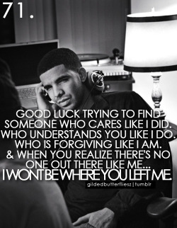 """Pics Quotes • """"Good luck trying to find someone who cares ..."""