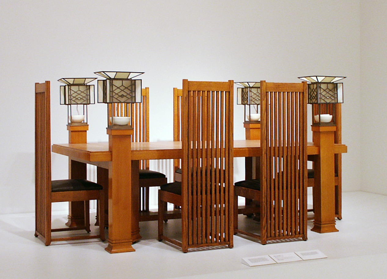 Frank Lloyd Wright Chairs I Drool In My Sleep Frank Lloyd Wright Dining Table And