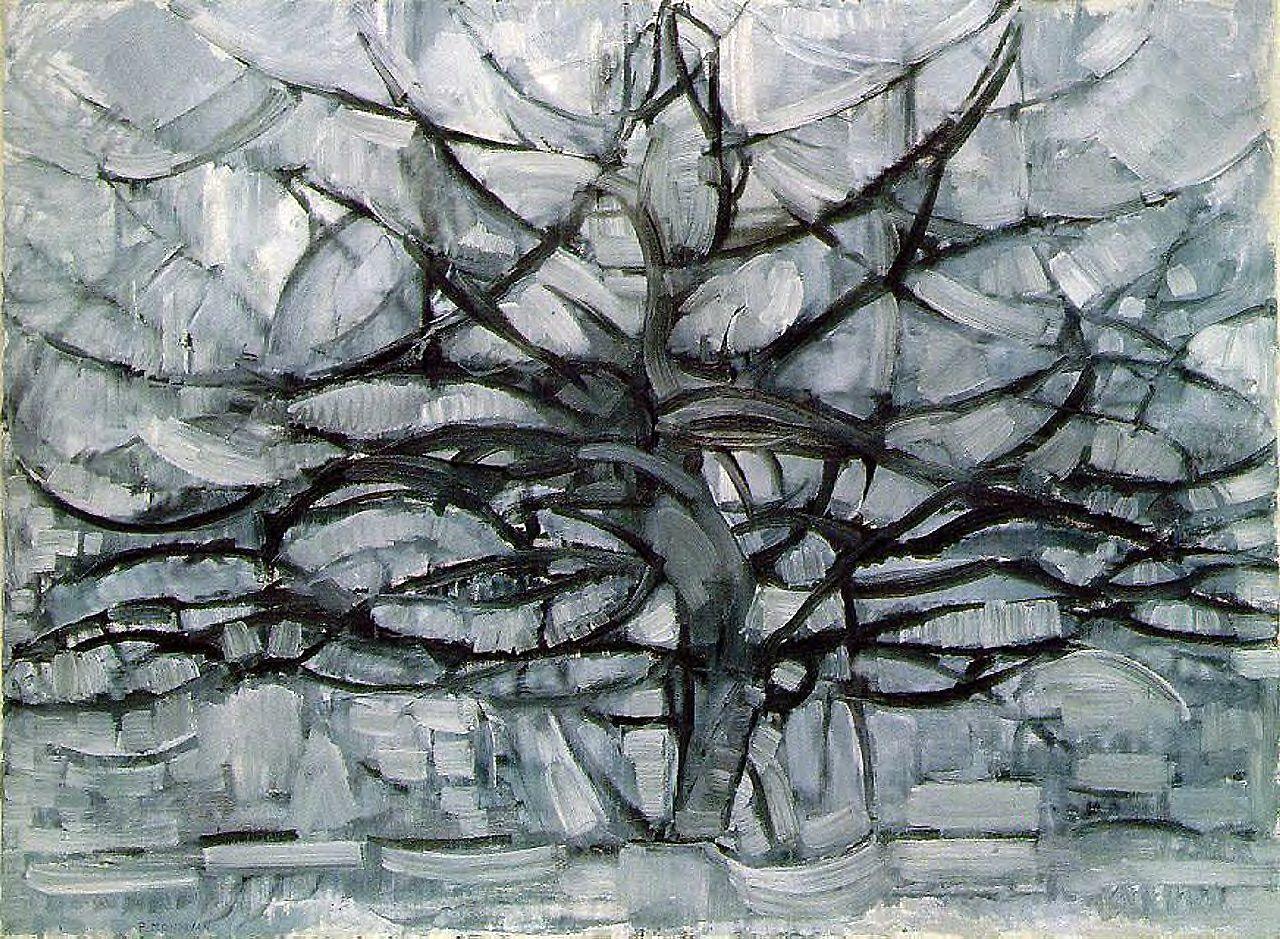 Fonkelnieuw Kunst Analyse: 'De Grijze Boom'   chezkackv UC-68