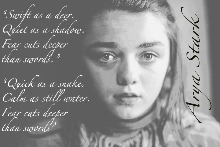 When The Snow Falls And The White Wind Blows Wallpaper Game Of Thrones Arya Quotes Quotesgram