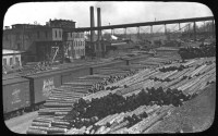 Wisco Histo  Logs for paper mills on the Fox River, 1901 ...