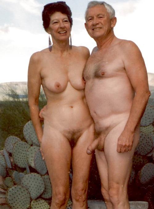 Senior naked couples