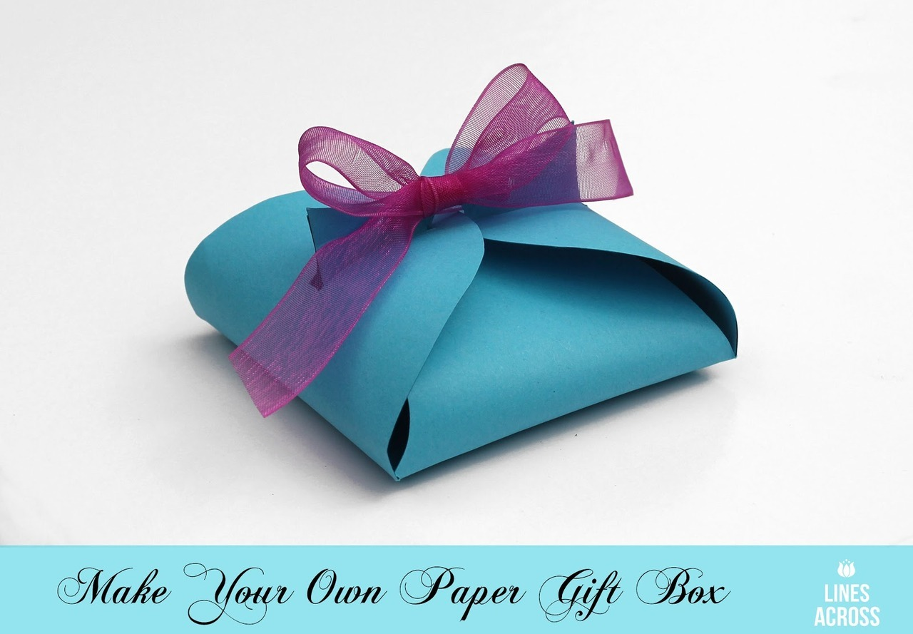 Pretty Little Pieces, Simple DIY Paper Gift Box
