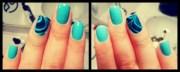#marble nail design nails