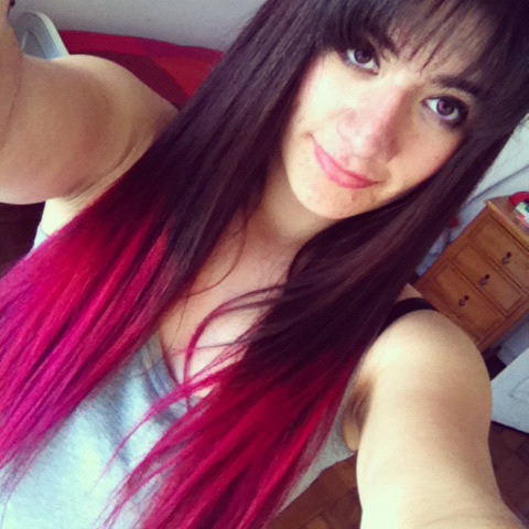 Pink Ombre Hair On Tumblr