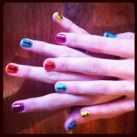 cross nails on Tumblr