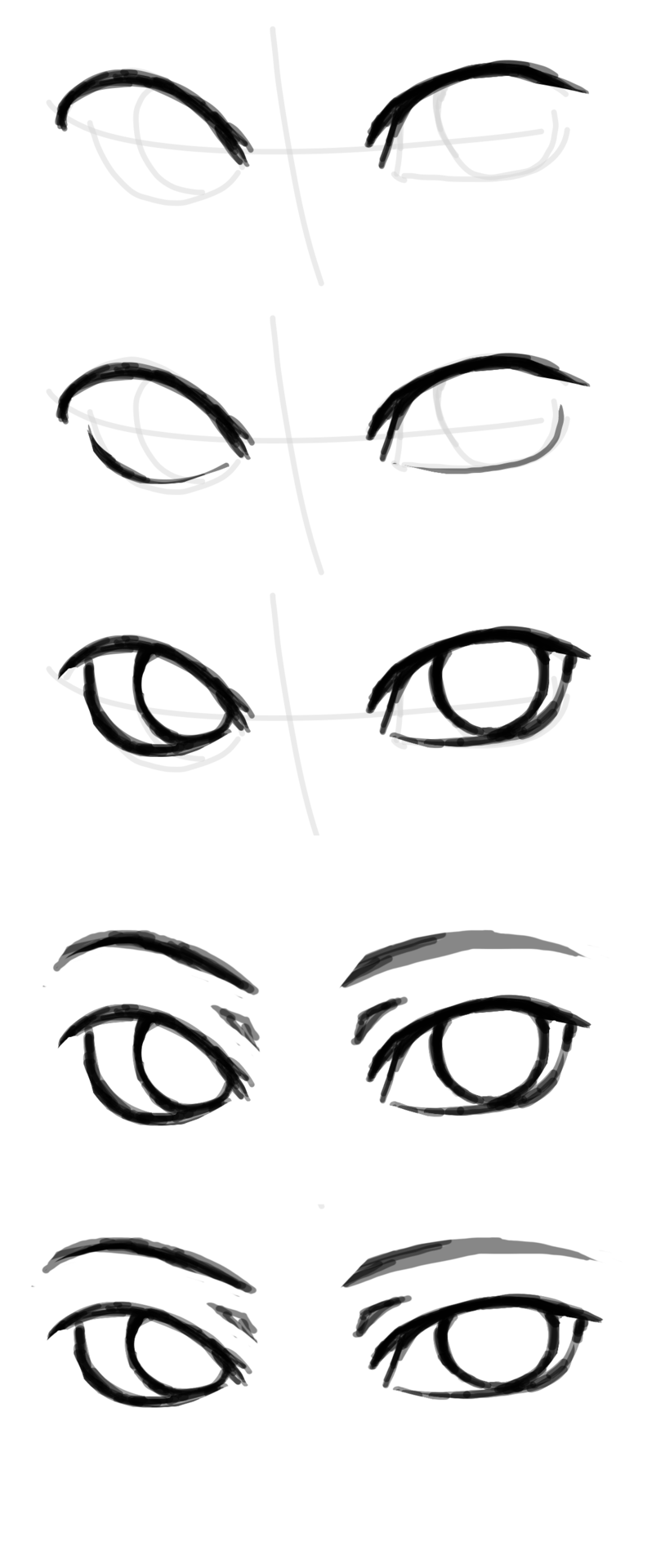 How to draw 'the other eye'. Because people keep...