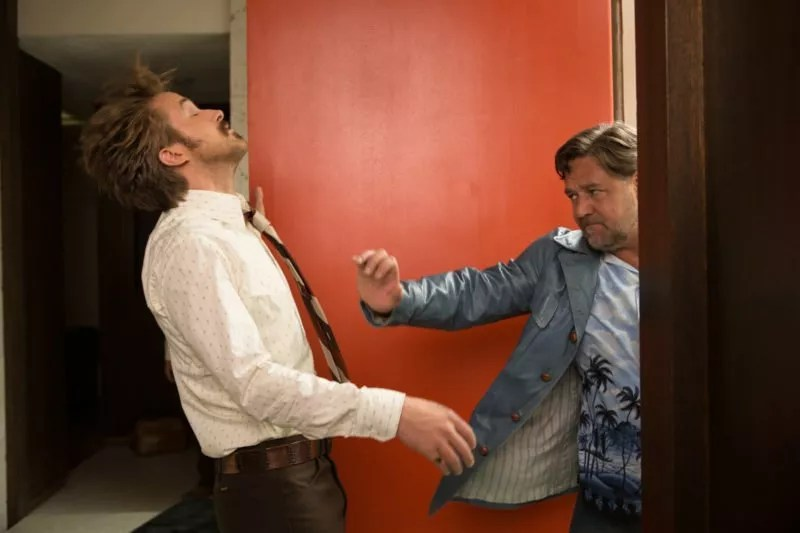 Russell Crowe und Ryan Gosling in The Nice Guys