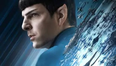 Poster von Mr. Spock (Zachary Quinto) von Star Trek Beyond