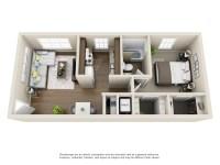 Floorplans - 400 North Townhomes