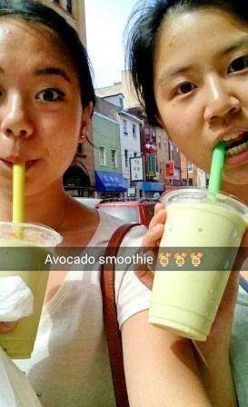 #phoxelua #avocadosmoothies