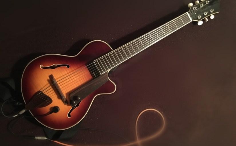 ギターを改造した話 前編