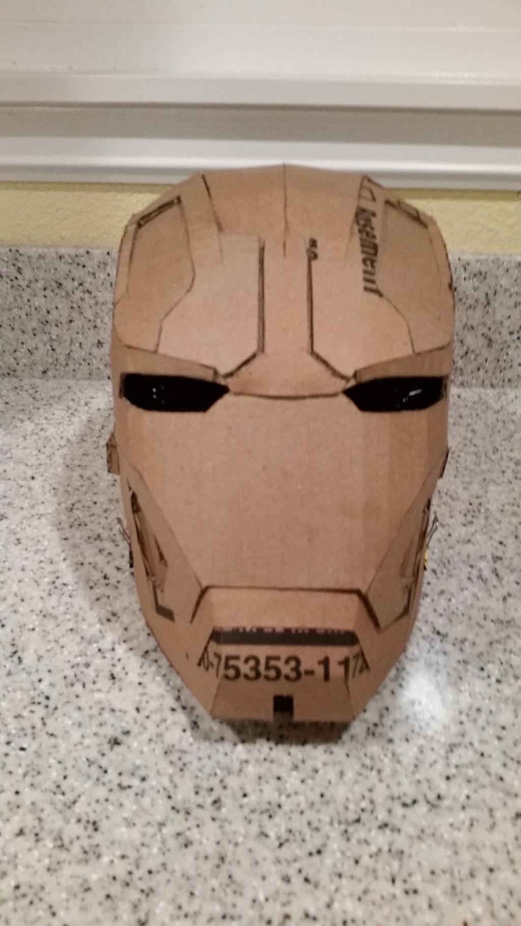 How To Make Iron Man Helmet : helmet, Quick, 7-day, Mk.42, Helmet, Build, Costume, Maker, Community, 405th