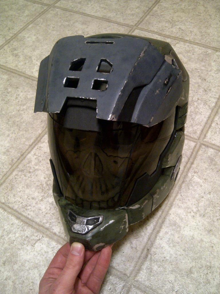 Halo Reach Skull Helmet : reach, skull, helmet, Haunted, Helmet.....Scary...OOOOOO, Costume, Maker, Community, 405th