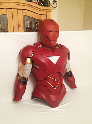 Iron Man Suit Template : template, Ironman, Builds, (info, Added, Builds), Update, Helmet., Costume, Maker, Community, 405th